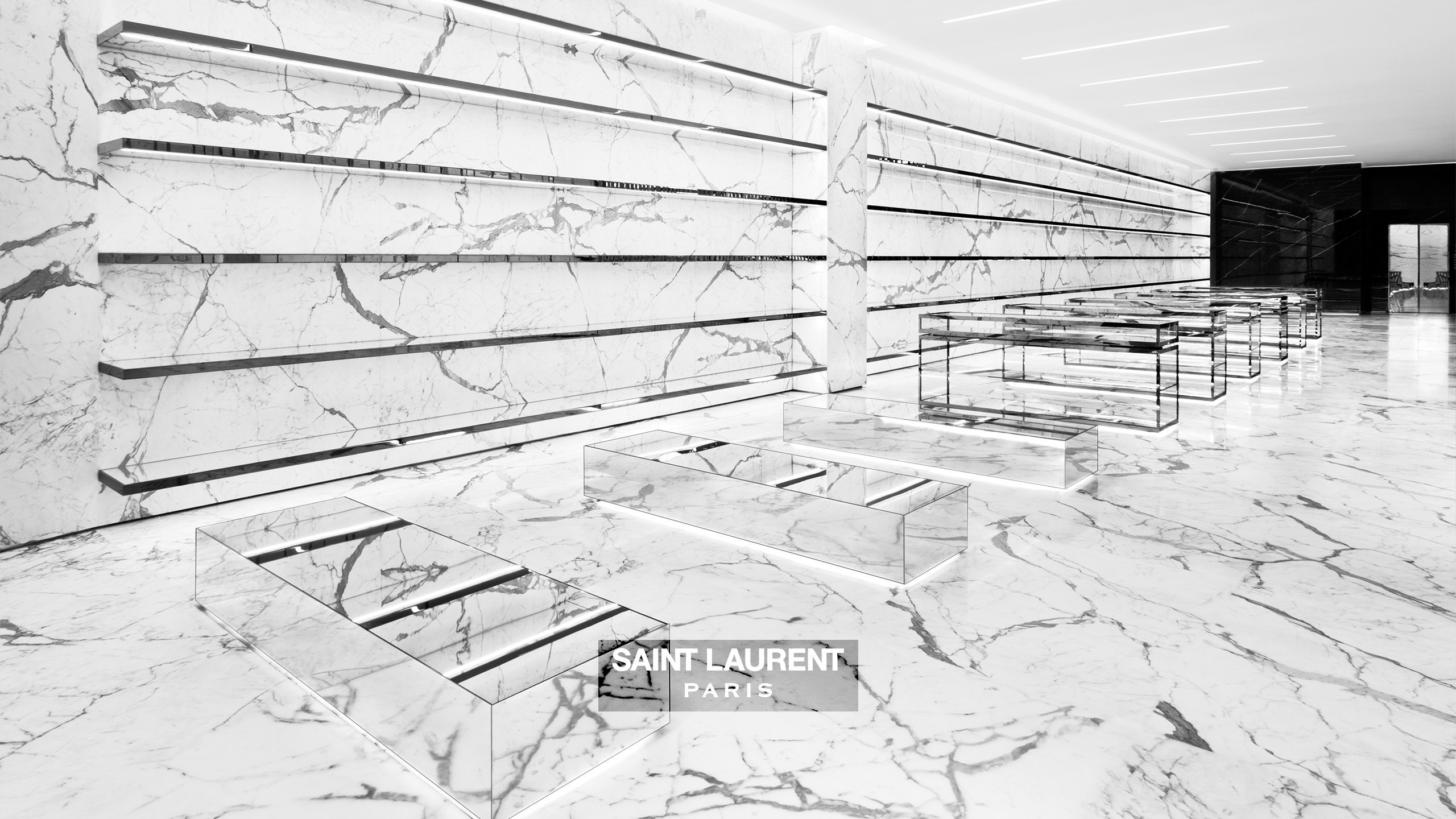 Saint Laurent Paris Wallpaper