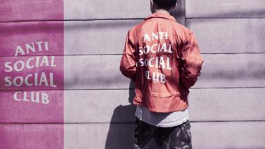 Anti Social Social Club Brand Wallpaper