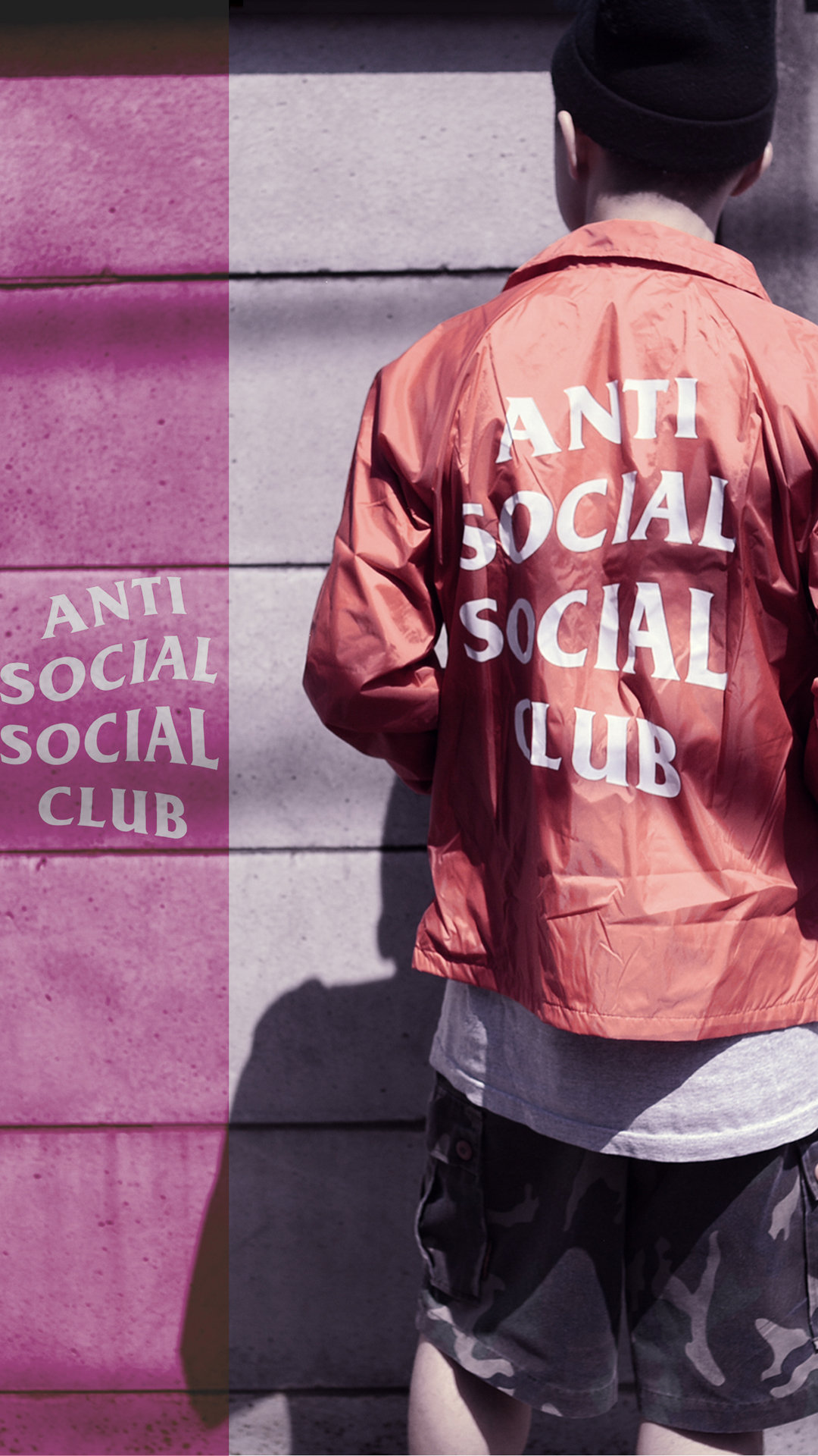 Anti Social Social Club Brand Wallpaper - CopEmLegit