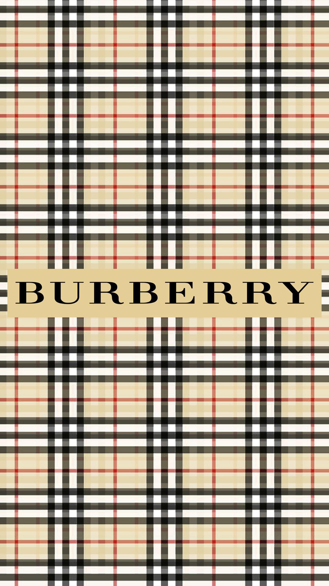 Burberry Pattern Wallpaper - CopEmLegit