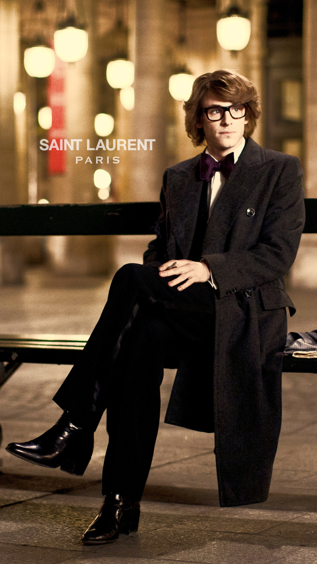Saint Laurent Paris Brand Wallpaper