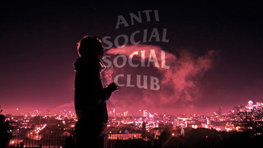 Anti Social Social Club Logo Wallpaper